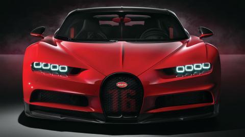 Bugatti Chiron SS