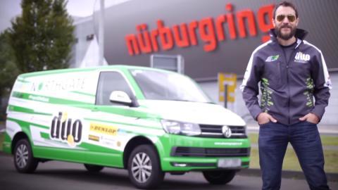 Esta VW Transporte es la reina de Nürburgring