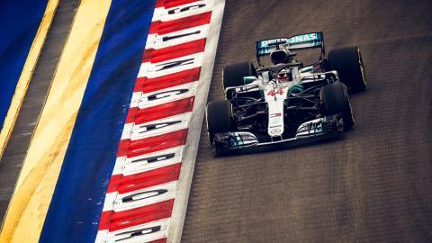 Lewis Hamilton gana el GP Singapur F1 2018
