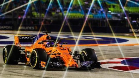 La pequeña victoria de Alonso en Singapur F1 2018