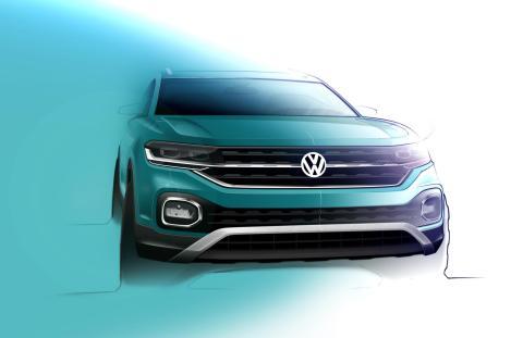 Volkswagen T-Cross dibujos