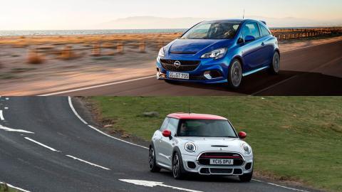 ¿Cuál comprar: Opel Corsa OPC o Mini John Cooper Works?