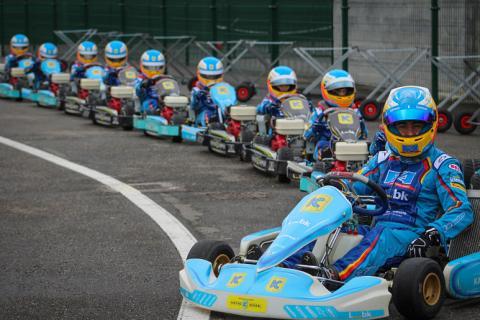La escuela de karting de Alonso en Asturias