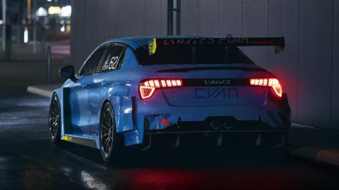 Lynk & Co 03 Cyan Racing Concept WTCR (trasera)