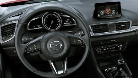 Mazda3 Black Tech Edition (interior)