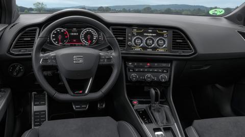 Seat León ST Cupra Black Carbon (interior)
