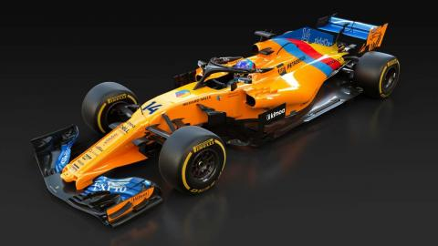 El McLaren de Alonso para Abu Dhabi