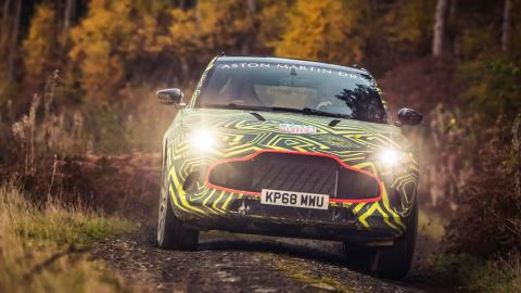 Aston Martin DBX (pruebas)