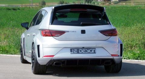 Un discreto Seat León Cupra