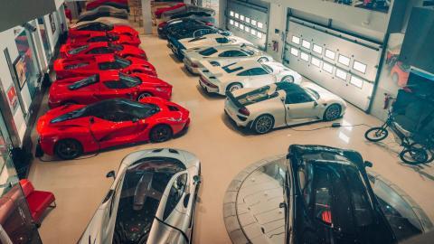Mejor colección coches del mundo