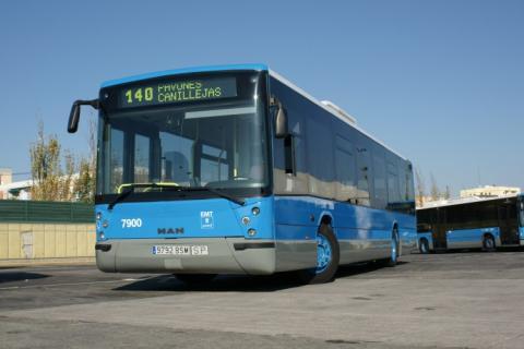 EMT pone en venta 24 autobuses de segunda mano