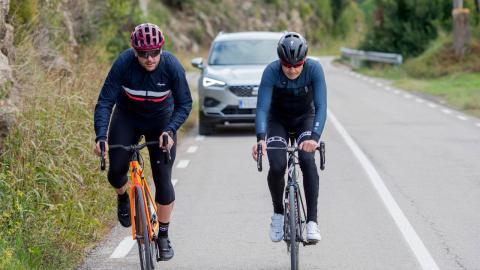Seat Tarraco detecta ciclistas