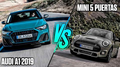 Audi A1 2019 vs Mini 5 puertas