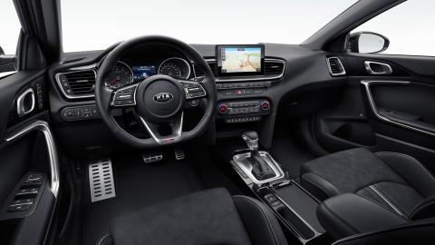 Kia Ceed GT Line (interior)