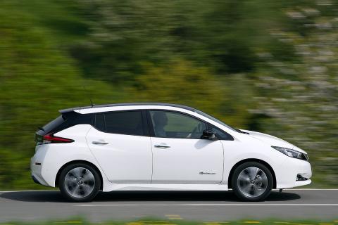 Prueba del Nissan Leaf 2019