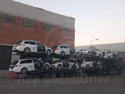 Seat León ST Guardia Civil