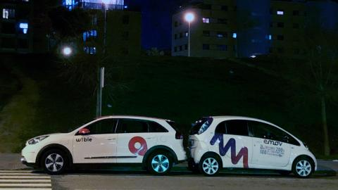 Car sharing Madrid