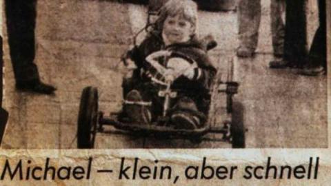 Michael schumacher pequeño