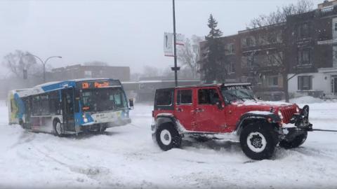 todoterrenos autobus nieve