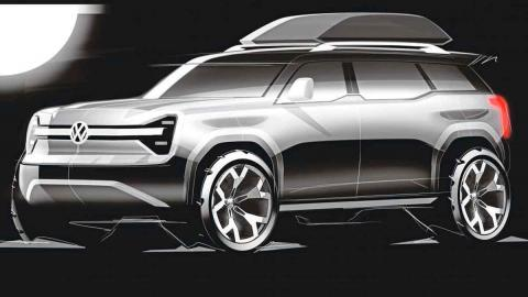 VW rival Defender concept