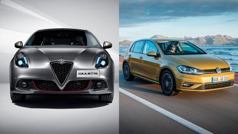 Alfa Romeo Giulietta o Volkswagen Golf