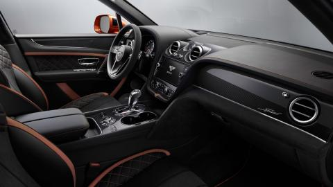 Bentley Bentayga Speed (interior)