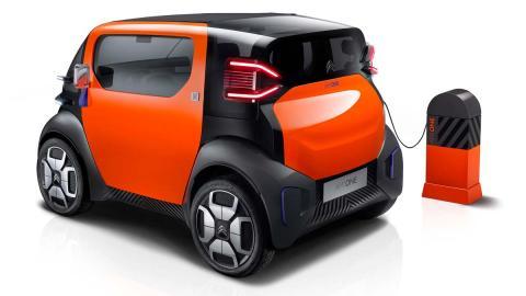 El coche de piezas intercambiables