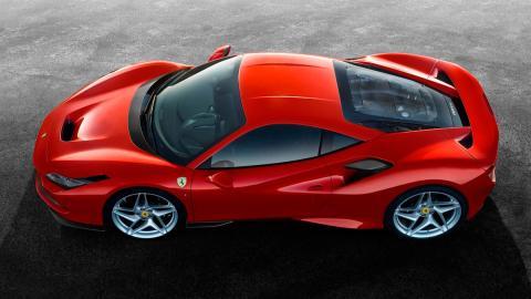 Ferrari F8 Tributo (aérea)