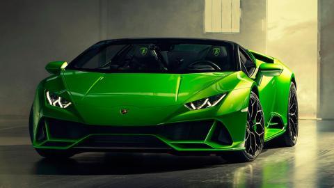 Lamborghini Huracán Evo Spyder (frontal)