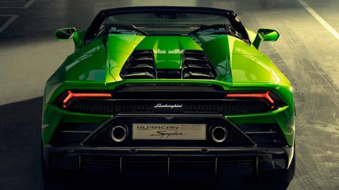 Lamborghini Huracán Evo Spyder (trasera)