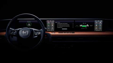 Interior Honda Urban EV