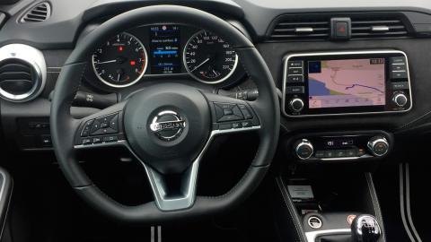 Prueba Nissan Micra N-Sport 1.0 DIG-T 117 CV (interior)