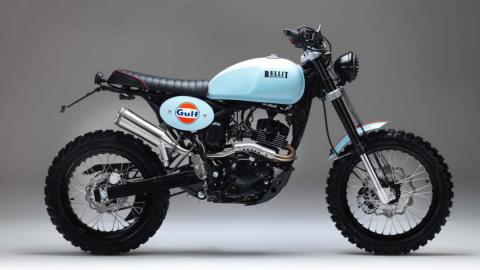 moto scrambler vintage