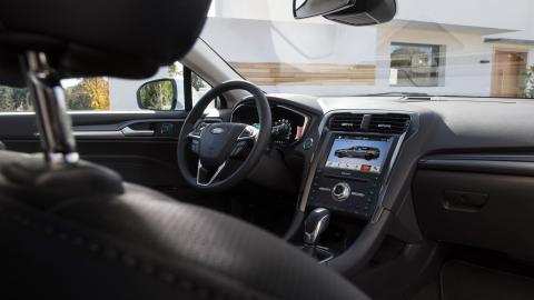 Ford Mondeo 2019 (interior)