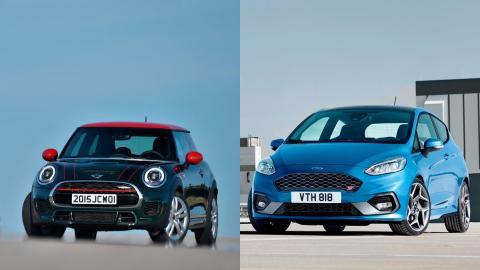 Mini JCW vs Ford Fiesta ST