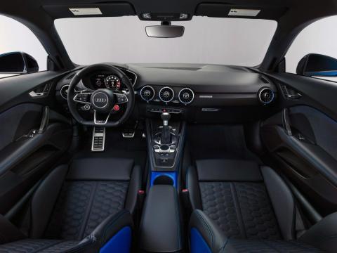 Los nuevos Audi TT RS Coupé y TT RS Roadster