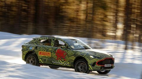 Aston Martin DBX Artico