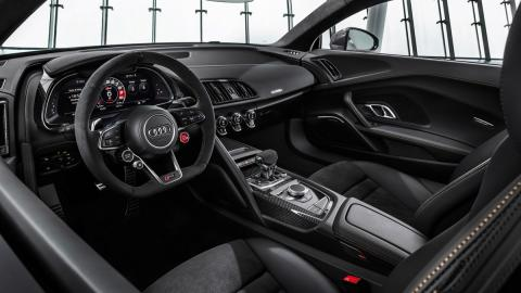 Audi R8 V10 Decennium (puesto conducción)