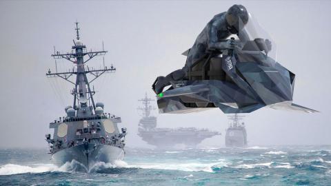 Jetpack aviation moto voladora militar cargo