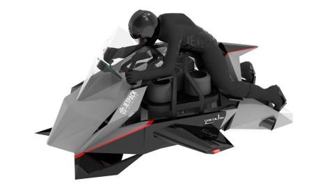 Jetpack aviation moto voladora militar cargo