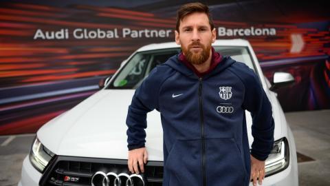 Los Audi de los jugadores del FC Barcelona 2019