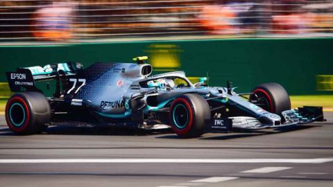 Mercedes F1 Australia