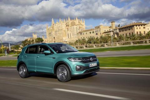 Fotos prueba VW T-Cross