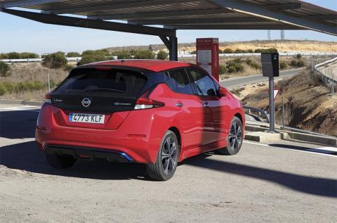 Prueba de la tecnología del Nissan Leaf