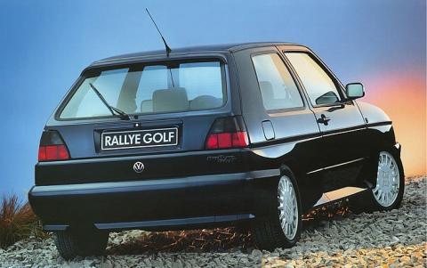 Volkswagen Golf Rallye (trasera)