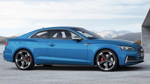 Audi S5 2019 diésel, lateral