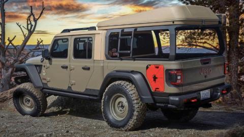 Concept Jeep Wayout, tres cuartos trasero