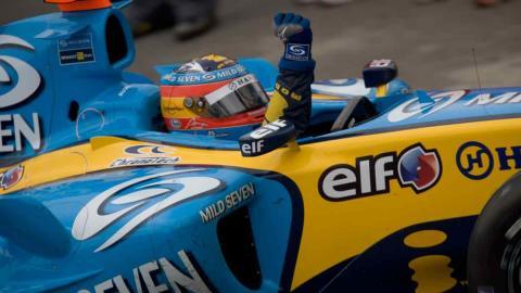 Fernando Alonso Brasil 2005