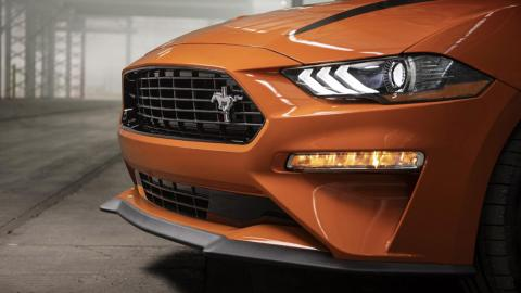 Ford Mustang EcoBoost High Performance Package, detalle frontal