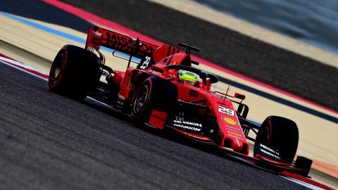 Mick Schumacher Bahréin